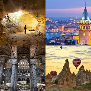 Istanbul & Cappadocia Package (4 Nights-5 Days)