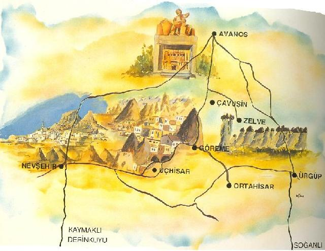 Only 1 Day in Cappadocia Private Tour
