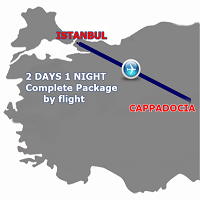 Istanbul Cappadocia 2 days 1 Night by Flight (PRIVATE TOUR)