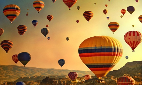 Cappadocia Turkey - Hot Air Balloons