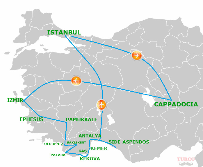 Best Holiday Turkey - TURCO TRAVEL on