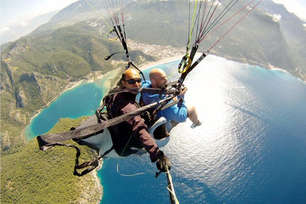 Paragliding Tour From Istanbul Daily