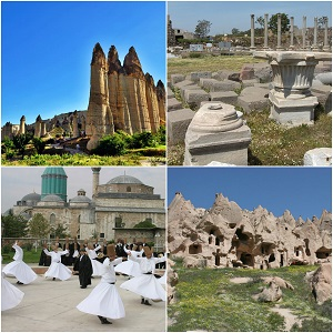 Steps Of Paul, Cappadocia & Churches Of Revelation 11 Days First Class Tour