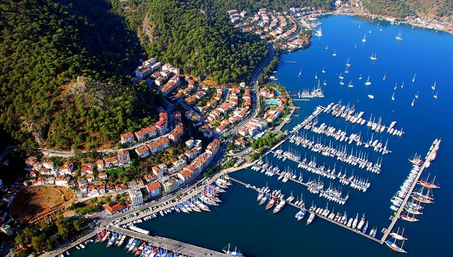 FETHIYE TO OLYMPOS BLUE CRUISE 4 DAYS