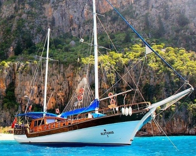 OLYMPOS TO FETHIYE BLUE CRUISE 4 DAYS